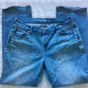 old navy / curvy profile mid-rise jeans 14 petite